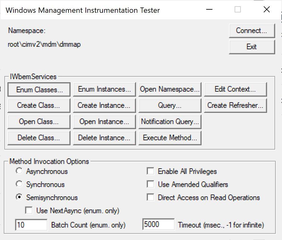 How to use PowerShell to run any MDM CSP locally - Device Advice